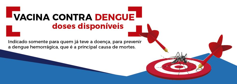 Vacina contra dengue disponivel