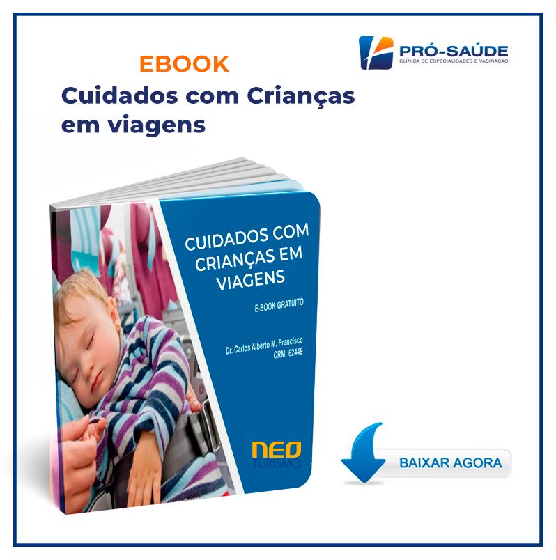 NEO TURISMO - Ebook - Cuidado com crianças em viagens