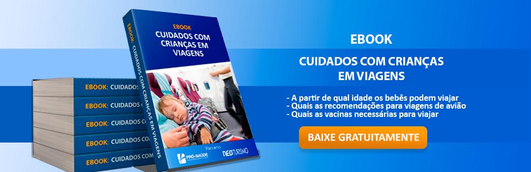 Slide Ebook Cuidado com Crianças ao Viajar - Clínica Pró-Saúde - Especialidades Médicas e Vacinação